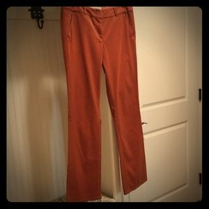 AT Loft pumpkin size 8 Marisa khaki pants